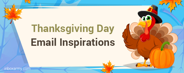 Thanksgiving Day Email Inspirations to Boost Your Sales