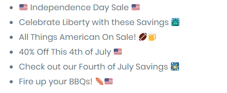 4th-of-july-email-marketing-emoji