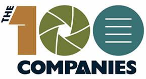 The 100 Companies Logo