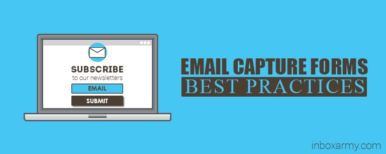 Email Capture Forms: Best Practices for Feeding Your Marketing Funnel