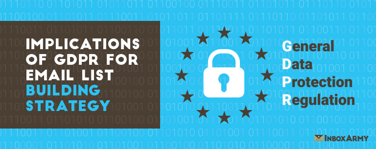 Implications of GDPR for Email List Building Strategy