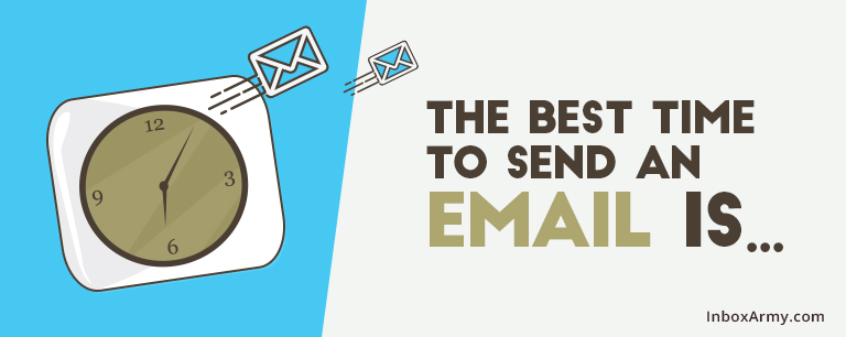 The Best Time to Send an Email is…