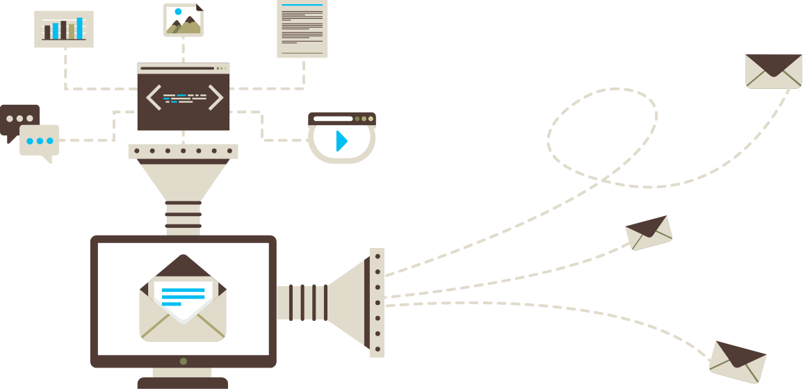 what email marketing strategy illustration