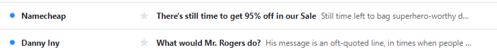Average open rate subject lines