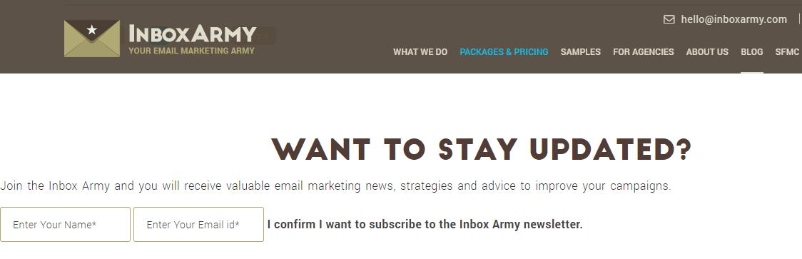 Inboxarmy email logo