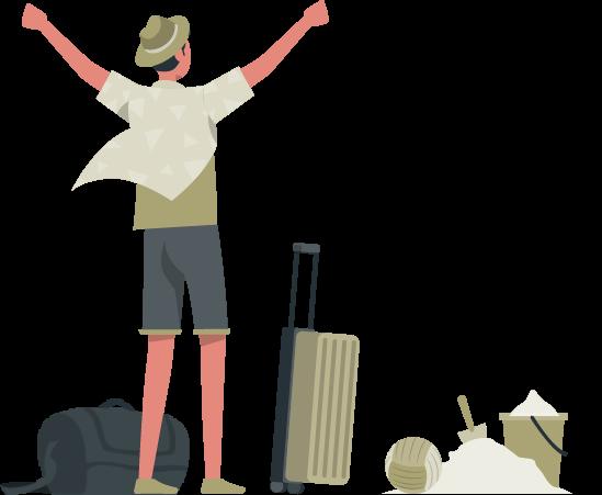 Traveling rafiki