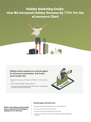Holiday Email Marketing Casestudy